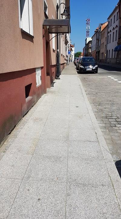 Remont chodników (ulice przyległe do Rynku)
